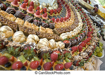 desset anyone - Dessert tray