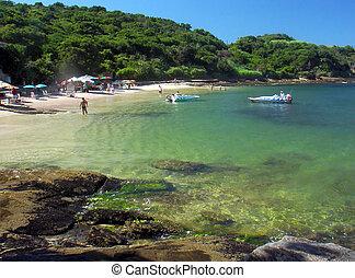 Vacation on Buzios beach,  Rio de janeiro, Brazil
