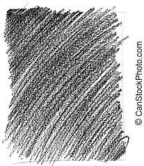 Wax crayon texture