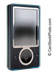 Digital Music Player - Portable Black MP3 Digital Music...