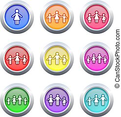 family buttons