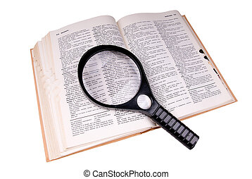 """Magnifying glass over the word """"medical"""""""
