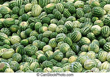 descomposición, Melones