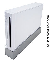 Video Game Console - Home Video Game Console In White Finish...
