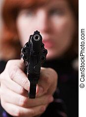 arma de fuego, punto