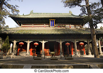 Mencius Temple China - Main Building, Mencius Temple,...