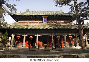 Mencius Temple China - Main Building, Mencius Temple,...