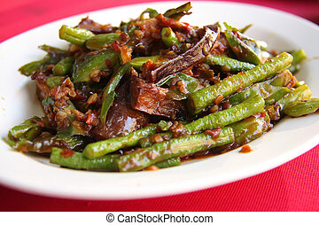 Spicy vegetables