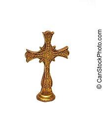 Cross - A cross the symbol of the Christian faith.