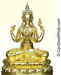 indian deity - shiva indian deity sitting in posture of...