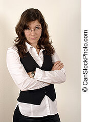 Business woman 2 - Image of a beautiful young business woman...