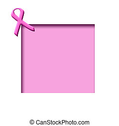 pink ribbon scrapboo - breast cancer awareness pink ribbon...
