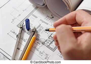Drawing plan - drawing a floorplan