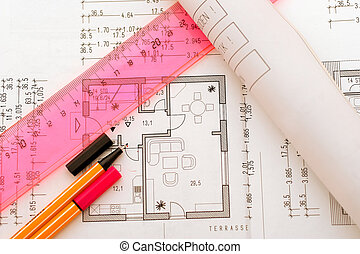 Planning tools on floorplan - some planning tools on a...