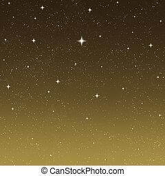 starry night sky - beautiful stars shining in the night sky
