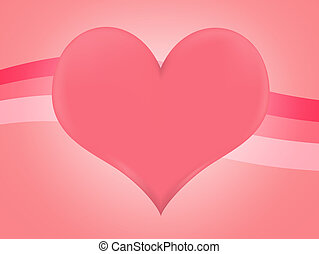 Large Heart Background