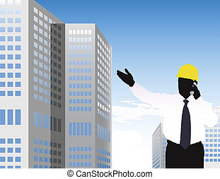 building done - construction concept, made from my photo