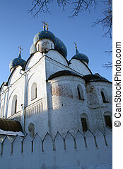 Russian Golden Ging - Old Russian Chirch On Golden Ring In...