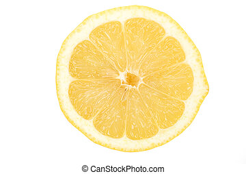 Lemons - Yellow Lemons with white background