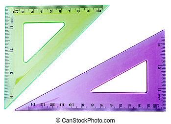 dos, triángulos