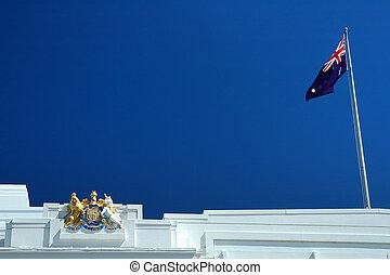 Australiano, fundo