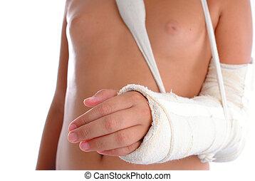quebrada, braço