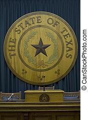 テキサス, 州, 紋章, 国会議事堂