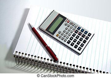 Scientific Notation - A Scientific Calculator on the desk...