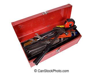 工具箱, 打開
