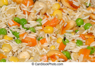rice pilaf - delicious rice pilaf with cashew nuts and...