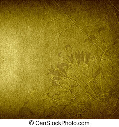 grunge floral background, creative design with flowers,...