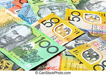 Australian Money Background - Australian money background...