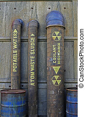 Nuclear Plumbing - Labeled Nuclear Plumbing and Equipment