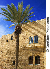 Detail of old city Jaffa from Israel