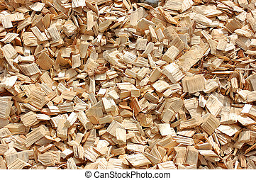 Wood Chips - Woodchips woodbark background texture
