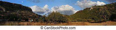 Panorama, The Carmel mountain, Israel