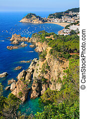 Tossa de Mar Costa Brava, Catalonia, Spain