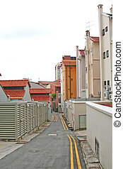 Clean Back Alley Way - A surprisingly clean back alley...