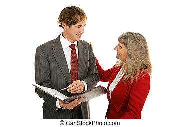 Mentor Series - Good Work - Mature female boss...