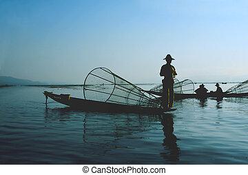 pescadores, agua