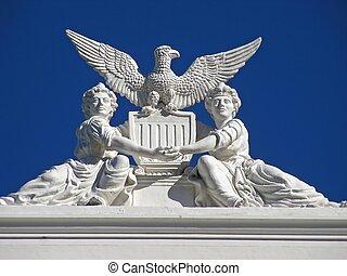patriotyczny, Architektura