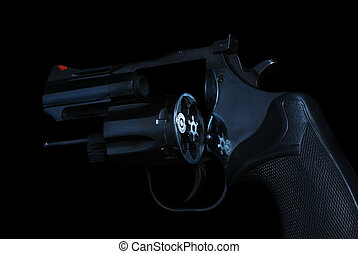 Dangerous Game 357 Magnum - 357 magnum revolver, cylinder...