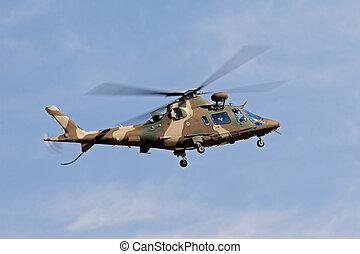 militaire, hélicoptère