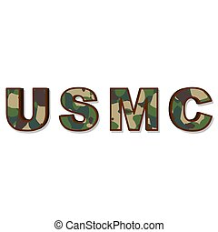 usmc - an illustration of the acronym usmc