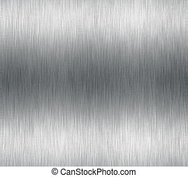 Brushed metal or aluminum effect for background use.