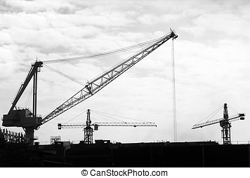 Large Scale Construction - -- with a number of different...