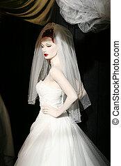 mannequin - bride mannequin