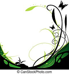 Floral background 12 - floral background illustration