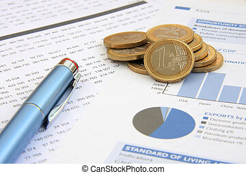 Anual Report - Business background: Financial reports, euro...