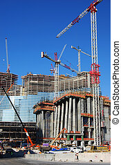 construction site 7 - overview of construction site and...
